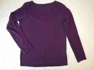 Colours of the World Camisa de malla lila