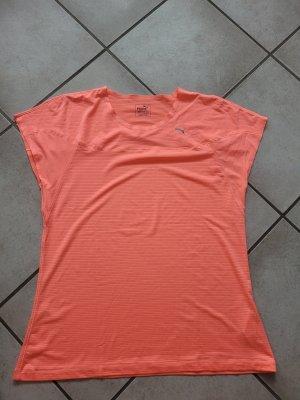 Puma Sports Shirt neon orange mixture fibre