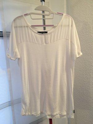 Shirt Reserved M weiß