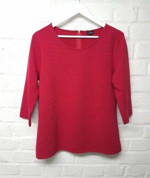 Shirt Rot Kirschrot Via Cortesa Gr. 42