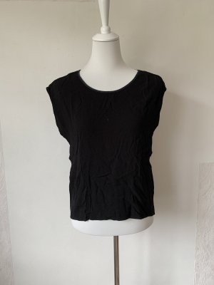 Pieces Blusa sin espalda negro