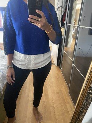 Shirt S blau Hemd Stradivarius