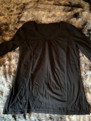 s.Oliver Oversized Shirt black