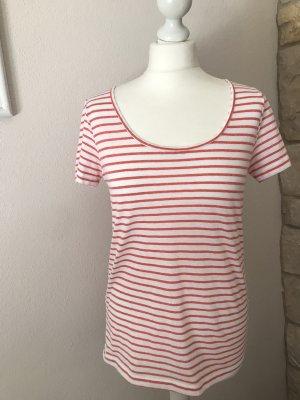 Samsøe & samsøe T-shirt bianco-rosso