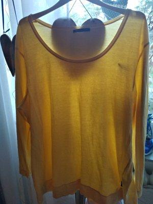 Sara Lindholm Camicia oversize giallo