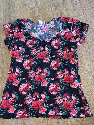 Amisu Carmen Shirt multicolored