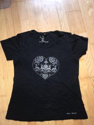 Spieth & Wensky Feierlaune Tradycyjna bluzka Wielokolorowy