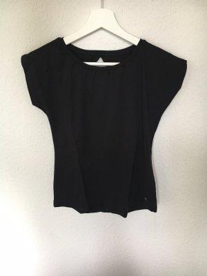 Shirt schwarz Rückenausschnitt Mavi Größe 36