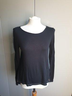 Shirt schwarz Spitze