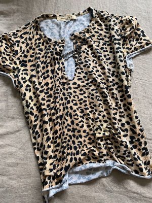 Shirt, See by Chloe, Leopardenmuster, Gr. 36