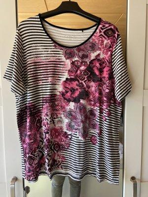 Shirt, sommer, bedruckt, bunt