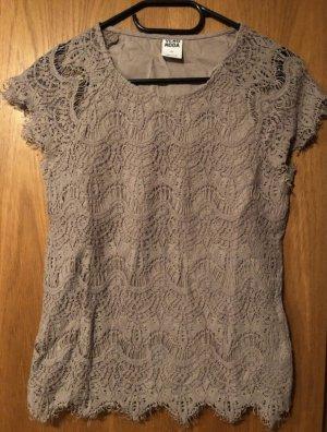 Shirt Spitze Beige Vero Moda XS