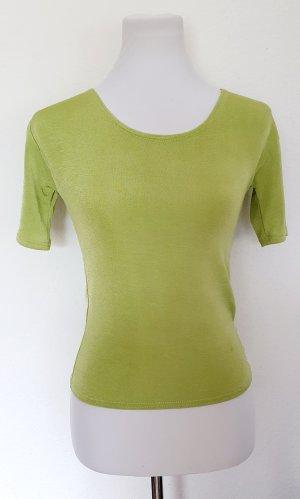 Shirt Stretch grün Gr 38