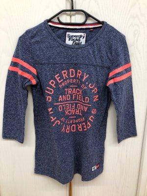 Shirt superdry blau Größe XS