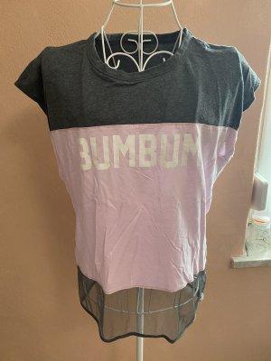 BumBum T-shirt rosé-gris