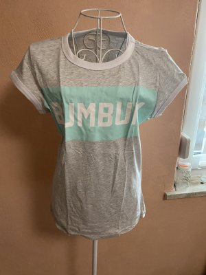 BumBum T-shirt gris-turquoise
