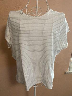 Blind Date T-shirt bianco-argento
