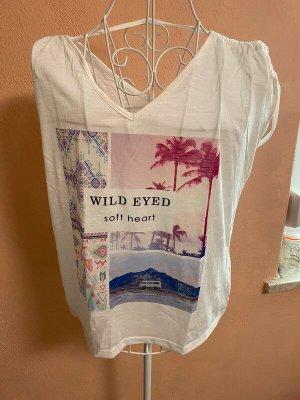 Shirt T-Shirt Gr. S Weiß