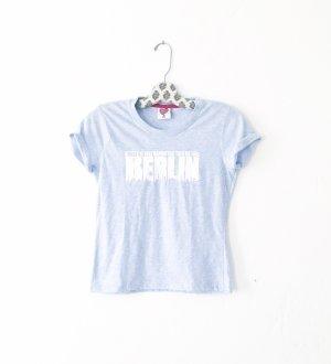 shirt • t-shirt • hellblau • vintage • berlin fashion