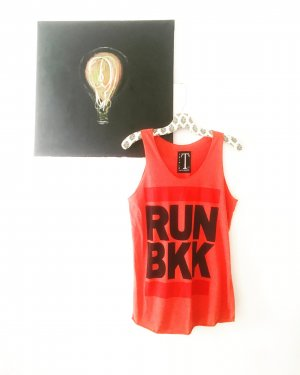 shirt / tank top / running / bangkok / bkk / training / sport