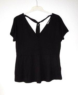 About You V-Neck Shirt black