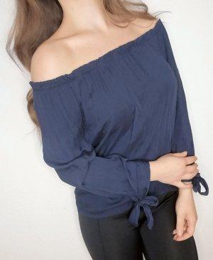 Shirt Top Bluse Carmen Ausschnitt