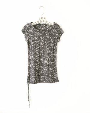shirt • top • grau • vintage • bohostyle • sterne