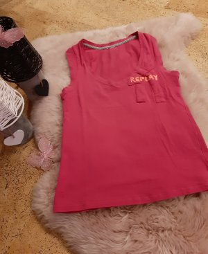 Shirt Top Oberteil Replay pink