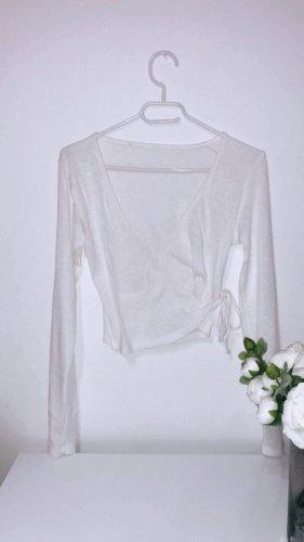 Shirt top oberteil tshirt weiß sweater sweatshirt white