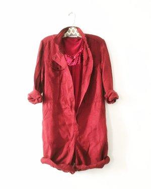 shirt • top • vintage • red • boho • sequin • pailletten