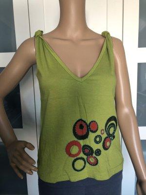 T-shirt court vert prairie