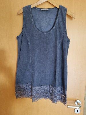 Tredy Long Shirt steel blue