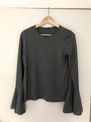 Shirt Trompetenärmel Zara