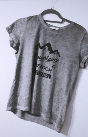 Shirt tshirt oberteil top tank top bluse hemd grau