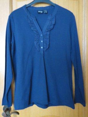 Shirt/Tunika, Gr.40/42, dunkelblau