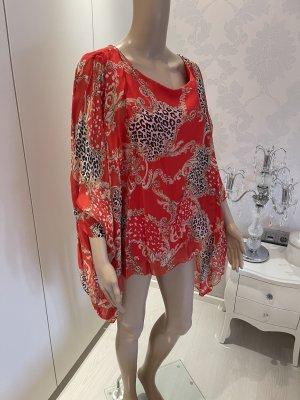 Made in Italy Camicia a tunica multicolore