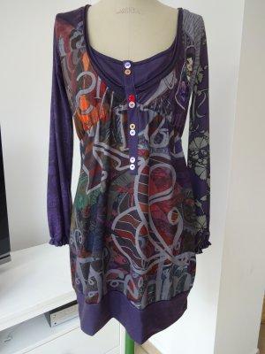 Desigual Shirt Tunic multicolored polyester