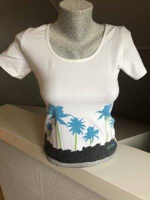 Venice beach Camisa deportiva blanco-turquesa