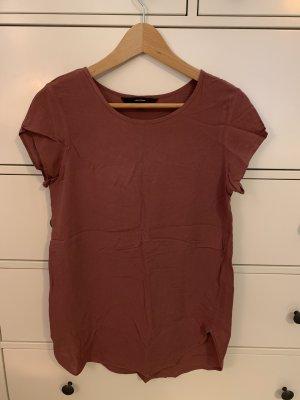 Shirt Vero Moda beerenfarben Größe S
