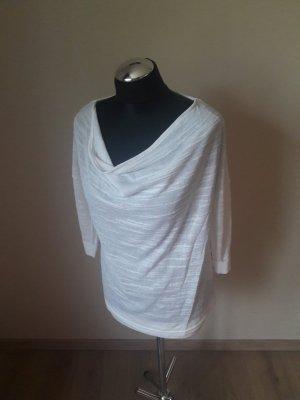 Vero Moda Koszulka z dekoltem woda biały