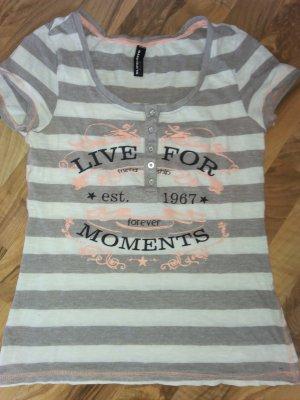 Shirt verträumte Aufschrift Live for Moments 36 Sehr süss