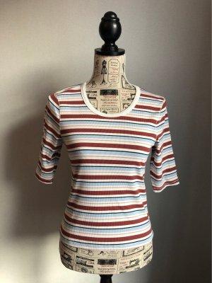 Abercrombie & Fitch T-shirt rayé multicolore