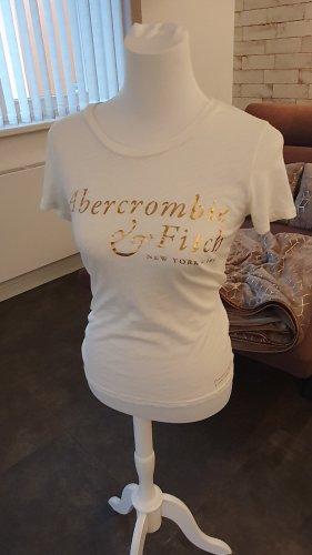 Abendkleid Shirt met print wolwit
