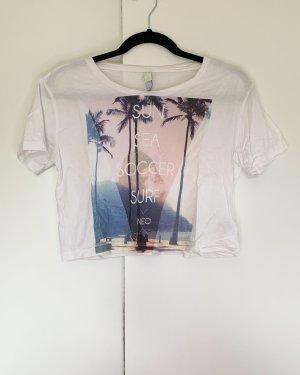 Shirt von Adidas NEO Größe S Weiß