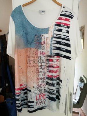 Alba Moda Camicia lunga multicolore Viscosa