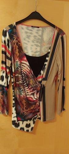 Apriori Długa koszulka czarny-beżowy