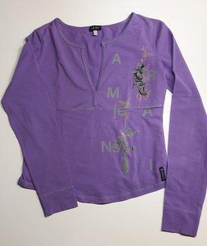 Armani Jeans V-Neck Shirt lilac
