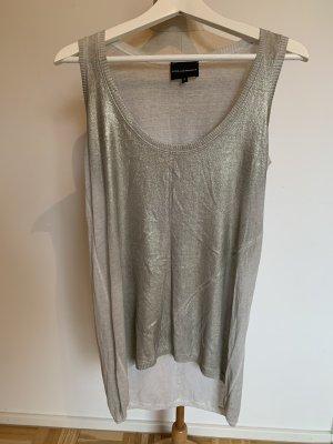 Atos Lombardini Long Shirt light grey-oatmeal