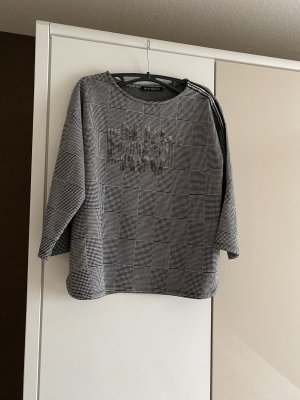 Betty Barclay Carmen Shirt black-white viscose