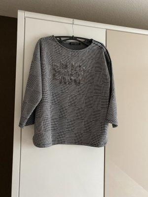 Betty Barclay Carmen shirt zwart-wit Viscose